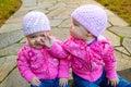 Gemelo en rosa