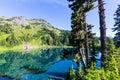 Twin lake Royalty Free Stock Photo