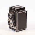 Twin Lens Reflex Camera Royalty Free Stock Photo