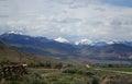 Twin Peaks, Challis, Idaho Royalty Free Stock Photo