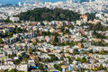 Twin Peaks, San Francisco, California, USA Royalty Free Stock Photo