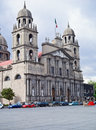 Twin tower Cathedral of Toluca de Lerdo, Mexico Royalty Free Stock Images