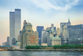 Twin Towers New York Royalty Free Stock Photo