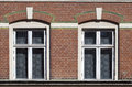 Twin Windows Royalty Free Stock Photo