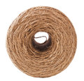Twine cord roll of on white background Stock Image