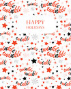Twinkle stars seamless pattern Royalty Free Stock Photo