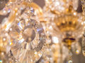 Twinkle, twinkle, crystal chandelier Royalty Free Stock Photo