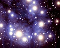 Twinkling stars Royalty Free Stock Image