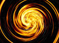 Twirl of bright explosion flash on black backgrounds fire burst background Stock Photo