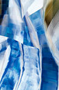 Twisted Metal Abstract Royalty Free Stock Photo