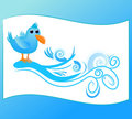 Twitter theme Royalty Free Stock Images