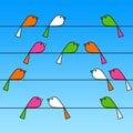 Cvrlikání ptactvo