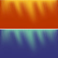 Two Abstract Backgrounds Royalty Free Stock Photo