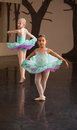 Two Adorable Ballet Students Stock Photos
