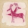 Two antelopes Royalty Free Stock Photo