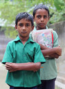 Two Bangladeshi schoolboys Royalty Free Stock Photo