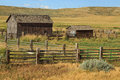 Two Barns In Rural Colorado.