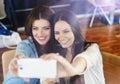 Two beautiful women Royalty Free Stock Photo