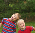 Two Boys Royalty Free Stock Image