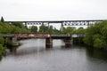 Two Bridges Royalty Free Stock Photo