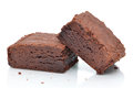 Two Brownies Stock Images