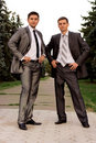 Two business men Royalty Free Stock Photography