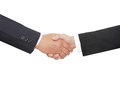 stock image of  Two business personshake hand