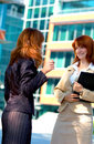 Two Business Women Royalty Free Stock Photo