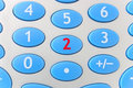 Two - Calculator Royalty Free Stock Photo