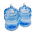 Two carboys with drinking water Royalty Free Stock Photo