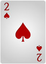 Two card spades poker