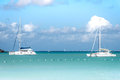 Two Catamarans Royalty Free Stock Photo