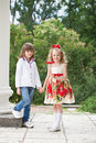 Two children Royalty Free Stock Images