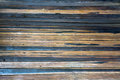 Two colored horizontall flooring planks background horizontal old rustic Stock Images
