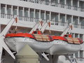 Two Cruise Liner Lifeboats Royalty Free Stock Photo
