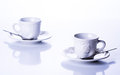 Two cups for tea Royalty Free Stock Photo