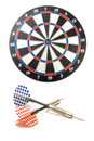 Two darts 2 Stock Photos