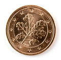 Two Euro cents coin isolated!! Royalty Free Stock Photo