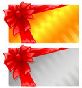 Two gift cards Royalty Free Stock Photos