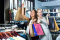 Two girls having many shopping bags Royalty Free Stock Photo