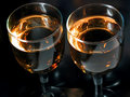 Two goblets Royalty Free Stock Images