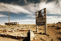 Two Guns Ghost Town along Route 66 Royalty Free Stock Photo
