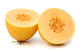 Two half of melon Royalty Free Stock Photo