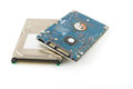 Two hard drives (HDD) Royalty Free Stock Images