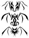 Two-headed Dragon tattoos