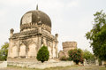 Two historic tombs part of the qutub shahi complex built during the mughal empire in golconda hyderabad the sultan who was to Royalty Free Stock Photos