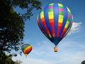 Two Hot Air Balloons Royalty Free Stock Image