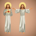 two image jesus christ christianity