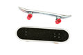 Two isolated finger skate boards Royalty Free Stock Photo