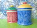 Two jars Royalty Free Stock Photography